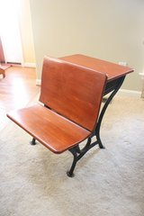 Vintage School Desk and Bench Chair in Quantico, Virginia