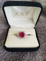 Ruby and diamond ring size 7 in DeRidder, Louisiana
