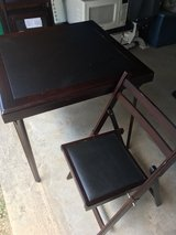 Foldable Card Table w 4 Chairs in Fort Leonard Wood, Missouri