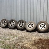 Kumho road venture AT tires and wheels in Pleasant View, Tennessee