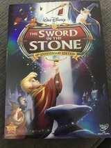 The Sword In The Stone DVD in Glendale Heights, Illinois