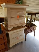 2 Drawer Nightstand by Broyhill in Off-White in Wilmington, North Carolina