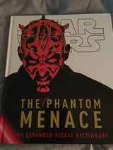 Star Wars Hardcover Phantom Menace Dictionary in St. Charles, Illinois