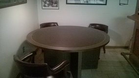 Conference Table and 3 chairs in Brookfield, Wisconsin