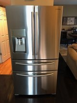 Samsung Refrigerator, Stainless Steel French Doors, Counter-Depth, 24 Cu. ft. in Fort Riley, Kansas
