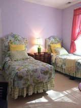 Custom single headboards, comforters, bed skirts,and pillow shams. in Beaufort, South Carolina