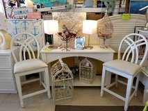 Cottage Style White Bar Stools in Wilmington, North Carolina