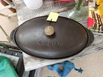Cast Iron Fish Plate with Lid by Staub in Camp Lejeune, North Carolina