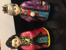 Korean couple figurine set in San Antonio, Texas
