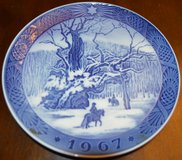 Plate Antique 1967 in 29 Palms, California