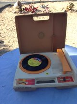 vintage fisher price record player in 29 Palms, California