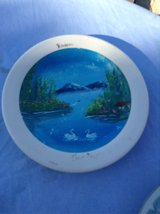 hand painted plate in 29 Palms, California