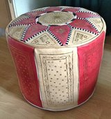 Hassock with elaborate design in Ramstein, Germany