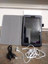 Kindle fire tablet & case in Clarksville, Tennessee