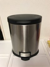 5L Trash Garbage Can (Stainless Steel) in Okinawa, Japan