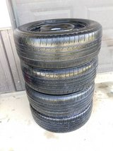 "Set of 4 wheels and tires 16"" 5x4.5 215/60/R16 in Fort Knox, Kentucky"