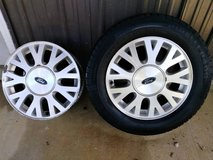 2 Ford Rims and a Tire 225/60/R16 (Fort Knox) in Fort Knox, Kentucky