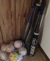 Big Lot of Baseball /Softball Bats and Ball in DeRidder, Louisiana