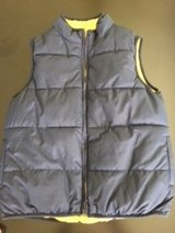 Blue Puff Vest - Excellent Condition in Beaufort, South Carolina