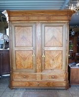 very precious ash wood armoire from France in Stuttgart, GE