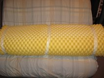 2 Inch foam mattress topper for full size bed. in Westmont, Illinois
