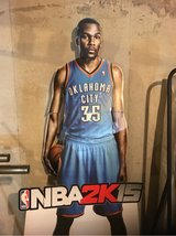 Kevin Durant cardboard cut-out in Westmont, Illinois