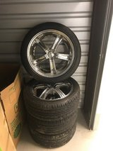 18 Inch Wheels and Tires  Will fit 2003-2008 Cadillac CTS in Fort Belvoir, Virginia