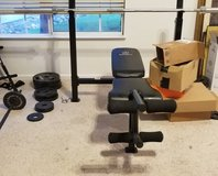 Marcy Bench Press w/ Weights in Vacaville, California