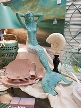 Iron Mermaid Figurine X-Large in Camp Lejeune, North Carolina