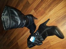 Mid-Calf Faux Leather Boots in Beaufort, South Carolina