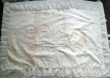 "Hand-made ""Shabby Chic"" Gold Flower Back Baby Coverlet in Bartlett, Illinois"