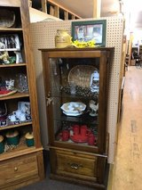 Cabinet with Glass Shelves in Fort Leonard Wood, Missouri