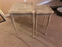 Accent tables in Fort Jackson, South Carolina