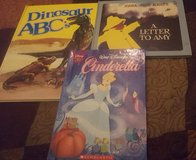 Cinderella, Dinosaur ABC's, and A Letter To Amy in Camp Lejeune, North Carolina