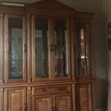 China cabinet and hutch in Aurora, Illinois