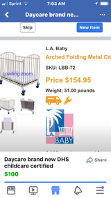 4 Daycare cribs brand new in Lawton, Oklahoma