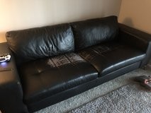 Faux Leather Couch in Westmont, Illinois