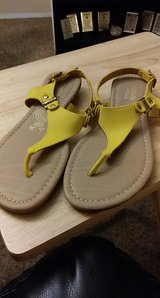 Yellow Sandals in El Paso, Texas