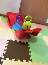 buying butterfly seesaw or slide get free toy in Okinawa, Japan