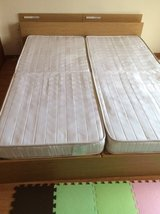 Price down!bed with mattress in Okinawa, Japan