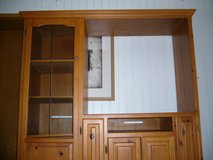 SOLID WOOD TV CABINET/ENTERTAINMENT CENTER in Ramstein, Germany