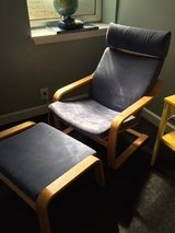 IKEA chair and ottoman in Joliet, Illinois