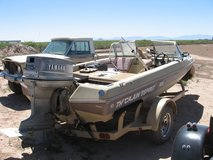 cajun 16.5 bass boat with 115 yamaha in Alamogordo, New Mexico