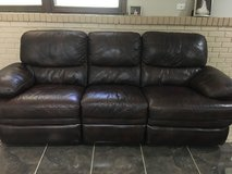 Leather recliner set in Naperville, Illinois