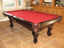 8ft Balboa Mahogany Pool Table in Vista, California