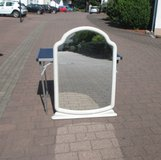 pretty mirror with beige frame in Ramstein, Germany