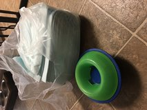 Pee pads and treat feeder in Camp Pendleton, California