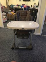 Chicco Adjustable High Chair Clean & Complete in Orland Park, Illinois