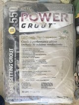 Tec Power Grout 25 lb bright white - 6 bags in Naperville, Illinois