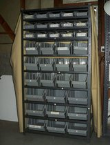 Parts/Tool Bin Rack in St. Charles, Illinois